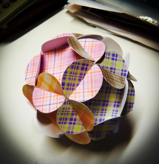 Floral Kirigami Ball