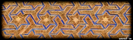 Islamic pattern with girih