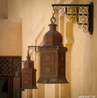 Traditional Lamps - Madinat Jumeirah, UAE