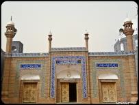 The masjid in the yard