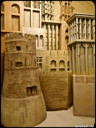 A model of the old city