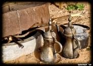 Traditional kettles for 'Kahva' (Arabic tea)