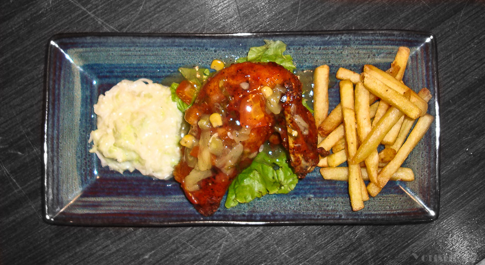 Stuffed Chicken Breast With Pineapple Sauce (1/6)