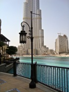 Towering in the Background: The Burj Khalifa