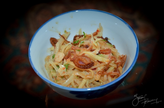 Burmese Green Papaya Salad