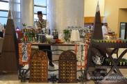 The beautiful Turkish tea stall